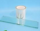 蓝色pet硅胶保护膜 高低粘规格可分切