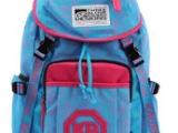 帆布双肩包女翻盖书包中学生男酷韩版潮抽绳旅行背包电脑包