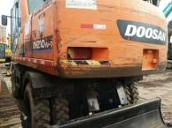 二手挖掘机斗山210轮挖 出售 全国包运