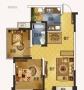 康盛小区 3室2厅2卫 毛坯房