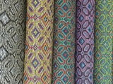 PP编织拉菲草面料 鞋材箱包用编织面料 卓玛纺织厂家直销