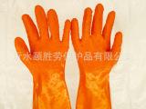 防护手套批发春蕾止滑手套作业手套纯棉布衬里浸塑手套