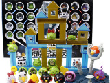 较新品 愤怒的小鸟 家族总动员 射击玩具 亲子游戏 流行玩具 热
