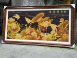 重慶品冠畫框裝裱廠裝裱十字繡國畫油畫