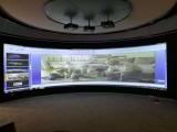 环幕环形投影融合 弧形曲面融合器 主动被动3D立体投影融合器