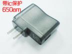 带IC 500MAH mp3手机充电头 USB迷你充电器 USB电源适配器 批发