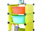 浴室置物架 卫生间三层脸盆架 面盆架 DIY魔片 批发
