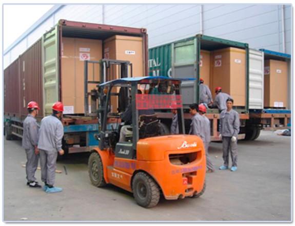 苏州工业园区叉车出租公司,设备搬运机床移位5吨叉车租赁