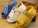 2015夏季新款童鞋真皮牛皮大皮韩版拼色男童凉鞋宝宝鞋男代发
