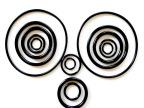 供应各种物性压变好高精度丁腈橡胶密封圈 O型圈 橡胶圈