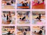 瑜伽普拉提垫上力量塑形培训班天河岗顶冠雅工作室报名送课程