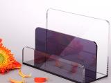 亚克力三角形桌面台卡/酒店用品台签/亚加力抽屉展示盒盒订做