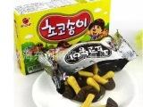 韩国进口食品休闲零食儿童巧克力饼蘑菇力好丽友有机黄蘑菇50g