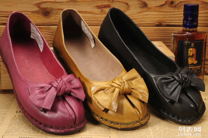 广州真皮女鞋批发,广州手工复古真皮女鞋批发,特色真皮文艺女鞋