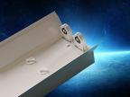 T8双管平管支架   LED双管支架