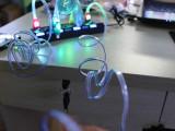 工厂大量现货批发USB发光手机数据充电线5S智能通用发光数据线