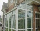 专业制作塑钢、铝合金门窗、阳光房、彩钢房、车棚