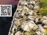 防洪重器-宏利格宾石笼网 防汛护堤河道施工铅丝石笼
