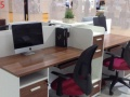 衡水办公桌椅批发 工位桌培训桌老板桌定做出售