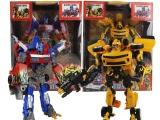 大黄蜂变形金刚玩具 批发机器人擎天柱 变形金刚4大黄蜂模型玩具