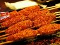 美食烧烤,火锅火热进行中