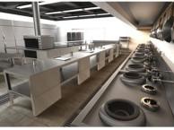 天河饭店单位厨房工程 厨具维修 燃气管道改造