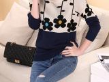 2014秋冬季女装新款毛衣女装 韩版宽松长袖针织衫套头打底外套