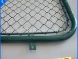 厂家销售 勾花网 体育场围网 菱形护栏勾