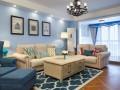 110 休闲美式新房,整个空间的氛围好素雅精致有品位!