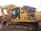 台州精品小松200和220等二手挖掘机出售二手小挖掘机