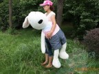 正版日本LeSucre超人气特大号砂糖兔 玩具 毛绒公仔兔子  1.7米