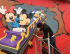 幼儿园彩绘 墙绘 文化墙 3D墙绘装饰装修
