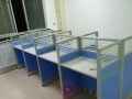 包头家具出售,办公家具厂 简约现代职员办公桌4人位组合员工桌