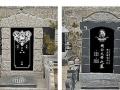 遗像雕刻 在墓碑上. 同时定做加工各种墓碑