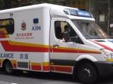 广州市安捷医疗转运救护车东莞市医院救护车香港跨境救护车出租