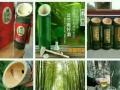 原生态竹筒酒,鲜竹酒结婚定制雕刻送礼更贴心