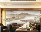 酒店墙绘 商城彩绘 餐饮娱乐手绘喷绘 公共场所壁画
