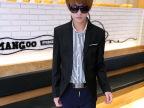 中爵休闲小西装男韩版修身型潮流男士小西服外套单西上衣男装新款