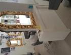 美发店装修处理货柜镜子椅子洗头床吧台