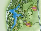 承接農村旅游景區項目概念策劃鳥瞰圖設計制作