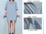 100D纬编涤氨纶空气层 弹力针织太空棉面料 半身裙卫衣面料 现