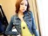 2013秋季耸肩外套 韩 女牛仔外套 开衫做旧短款小牛仔外套女