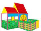 儿童户外便携帐篷 宝宝室内可爱过家家游戏屋玩具屋迷你别墅礼物