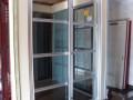 深圳车公庙办公室玻璃维修,地簧门维修,卡位拆装布线