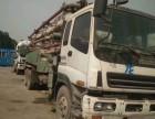 北京二手水泥泵车回收,混凝土泵车回收
