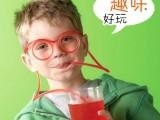 批发零售 疯狂夏季趣味眼镜吸管/创意DIY吸管 吸管