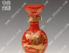 陶瓷酒瓶厂家,红釉酒瓶,黄釉酒瓶