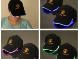 促销季 LED发光帽子 夜光帽子 闪光帽子 棒球帽子 鸭舌帽 有