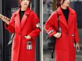 天津冬季女装批发最低价畅销中长款羊羔毛加厚大衣 羽绒棉服批发