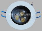 led防眩光天花灯-7W可调角度LED射灯 晶元芯片恒流驱动 TH-07W-03